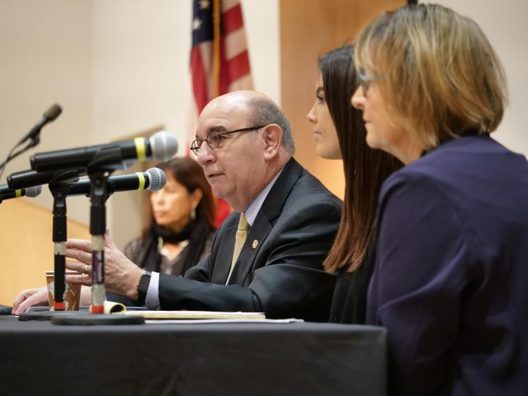 CU Boulder Chancellor Philip DiStefano speaks at the Diversity and Inclusion Summitmit In