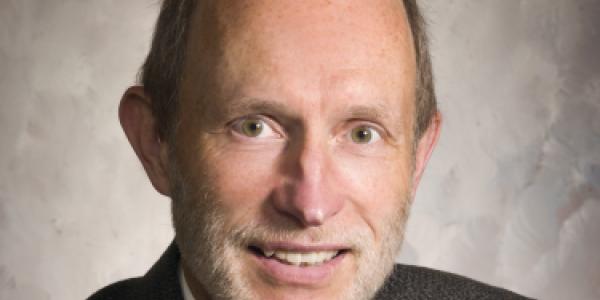 Portrait of Mark Strobel in sport coat and tie