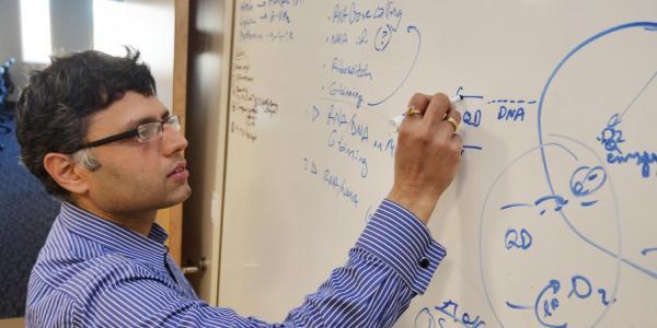Prashant Nagpal at whiteboard