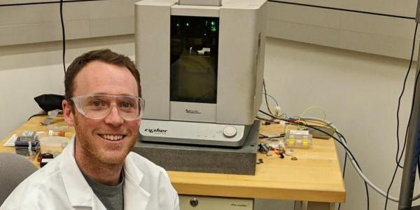 Tobin Brown, PhD student