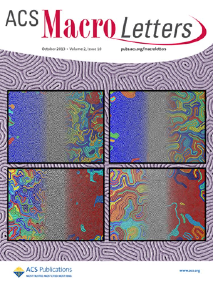 Stoykovich group research on the cover of ACS Macro Letters