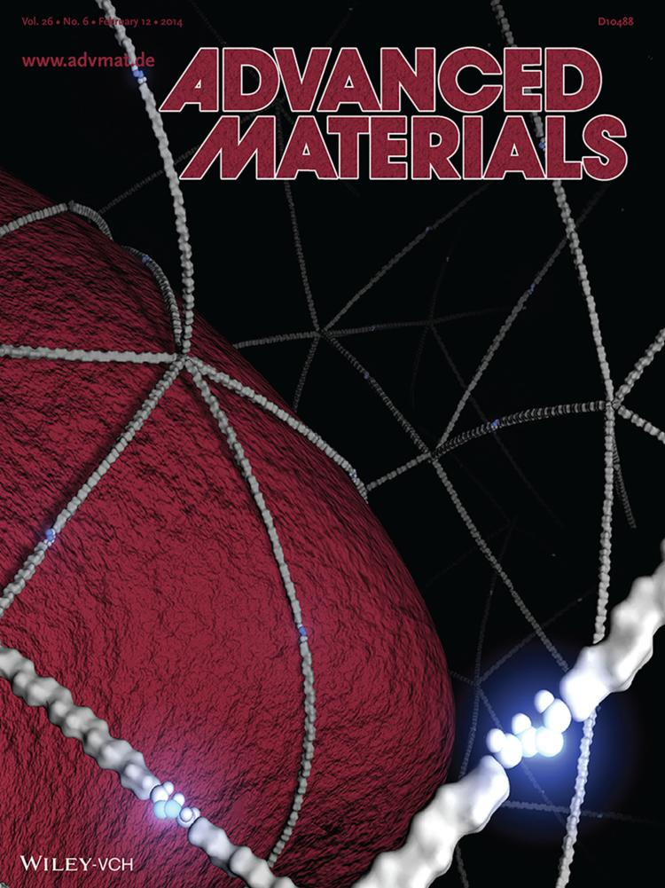 Anseth/Cha front cover of Advanced Materials