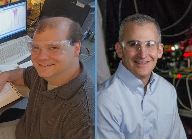 ChBE Professors Chris Bowman and Dan Schwartz
