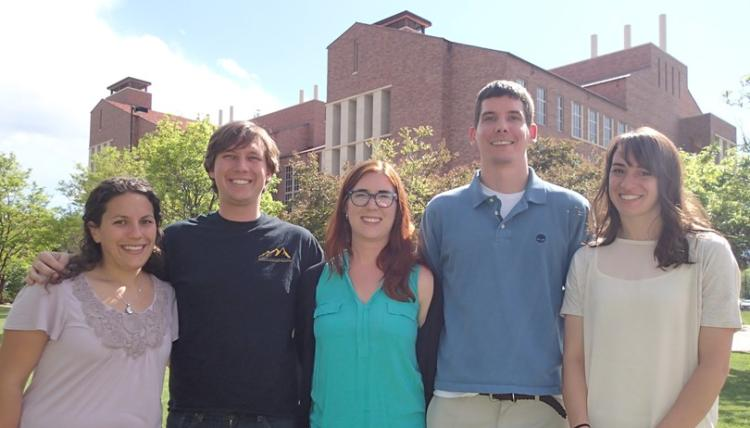 Caroline Szczepanski, Chris Muhich, Stacey Skaalure, Peter Mitrano, and Carolyn Schoenbaum