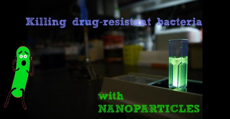 Killing drug-resistant bacteria title card