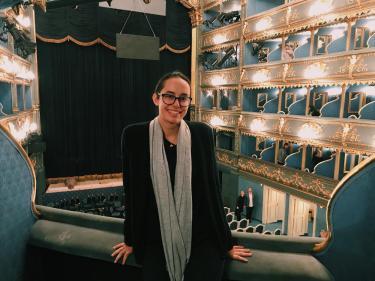 Lai at the Estates Theatre in Prague