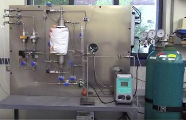 Gas adsorption equipment