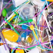single use plastics including straws, cup lids, utensils and more