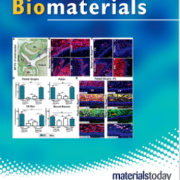 Biomaterials journal cover