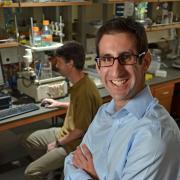 Joel Kaar in his lab