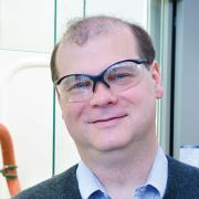 Chris Bowman in lab