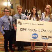 CU ISPE Chapter members at a spring vendor show
