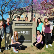 Student group tour of KBI Biopharma