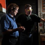 John Falconer in the lab