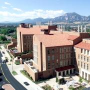 JSCBB exterior with mountains in the background