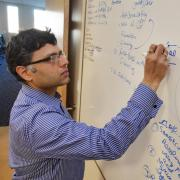 Prashant Nagpal at whiteboard
