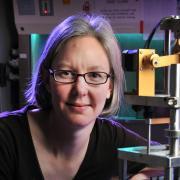 Stephanie Bryant in lab