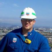 John Thilenius at Chevron