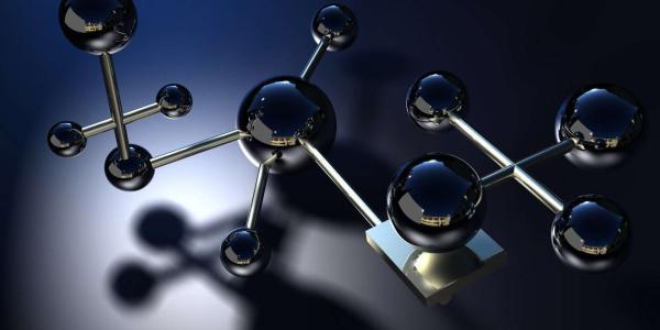 Molecule structure model