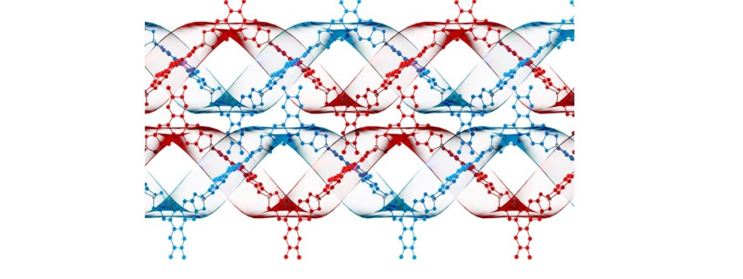 DNA-like artificial covalent helical polymers