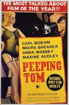 peeping tom movie poster