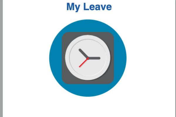 Myleave clock symbol
