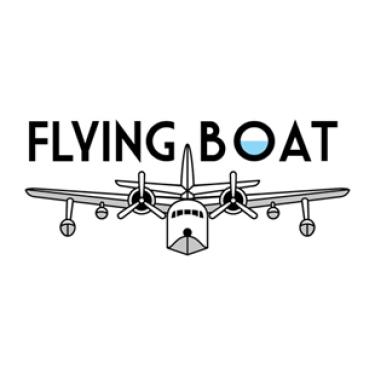 Poster/logo for Flying Boat film