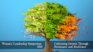 WLS zoom background of a tree through four seasons