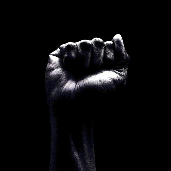 image of a Black fist
