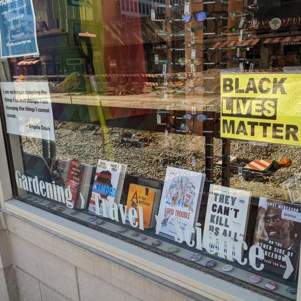 image of bookstore window
