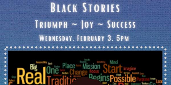 Black Stories flyer