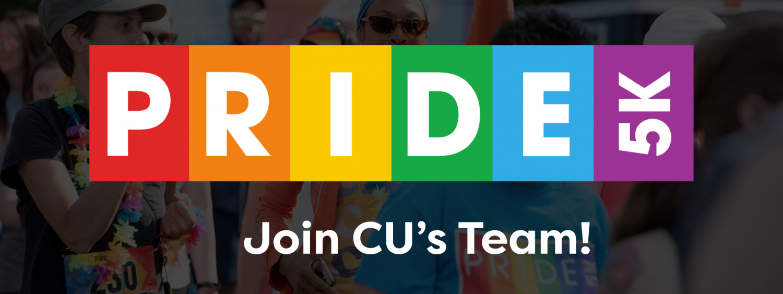 Join CU's team for the Denver Pride 5k!