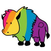 Rainbow Ralphie