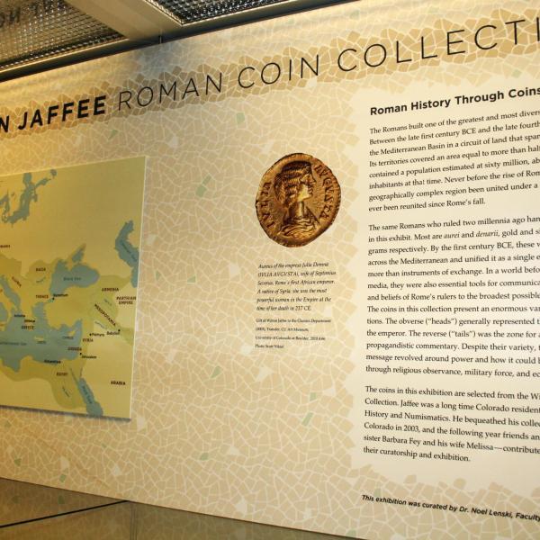 Jaffee Coin Exhibit