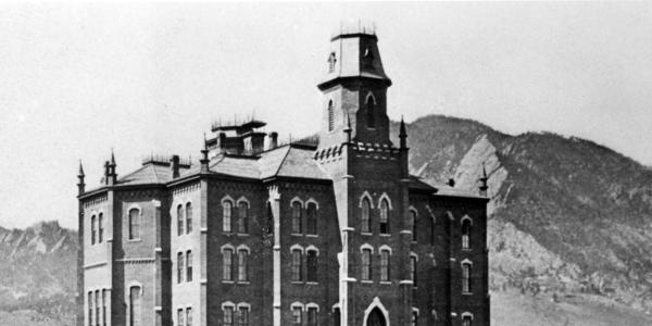 historic photo of old main