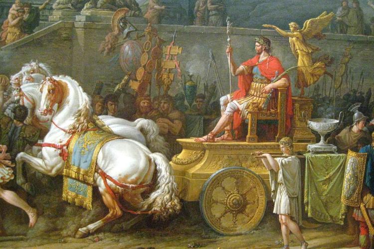 The Triumph of Aemilius Paulus painting