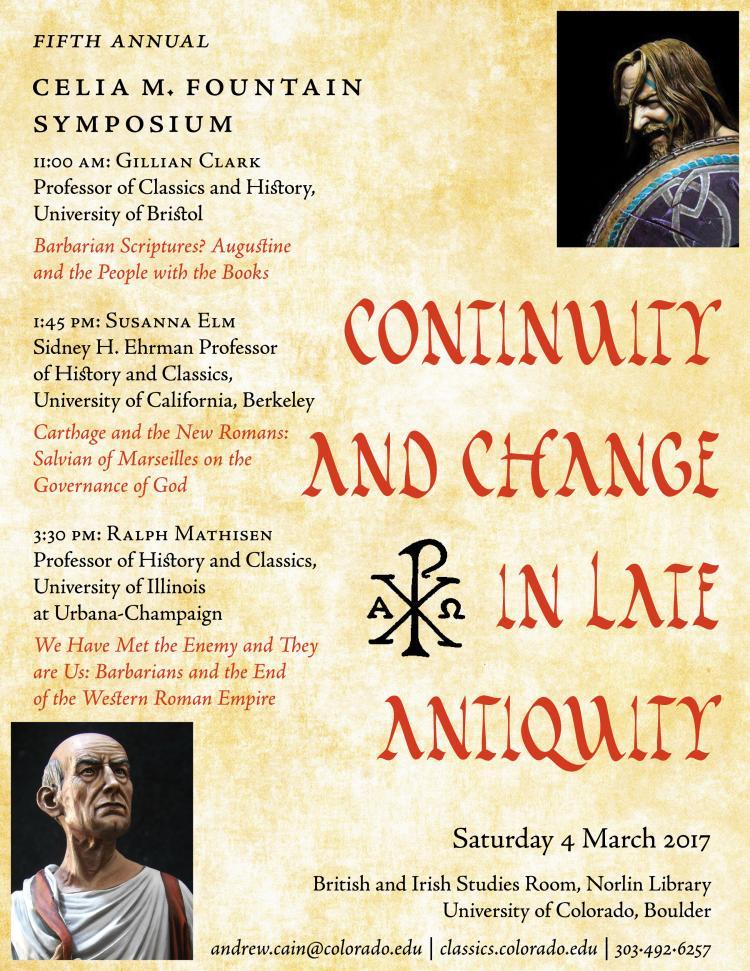 2017 5th annual ceilia m. fountain symposium poster