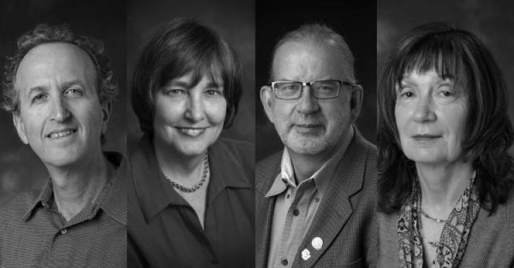 Photos of professors of distinction