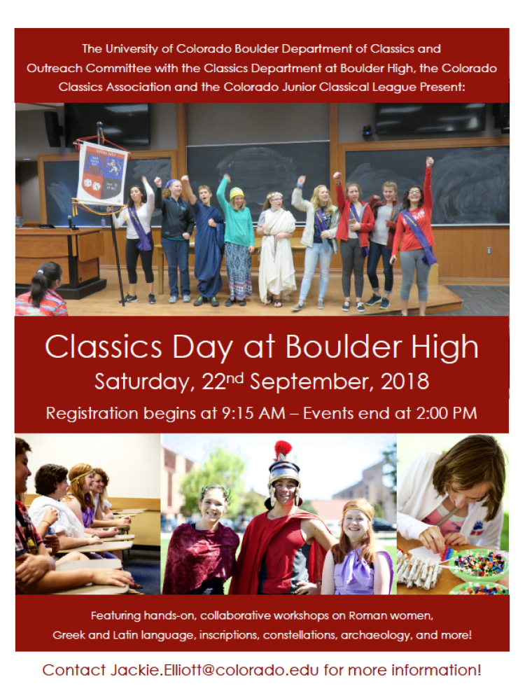 Classics Day poster
