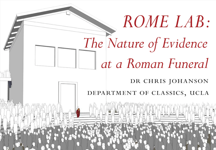 image of Romans gathering as a graphic
