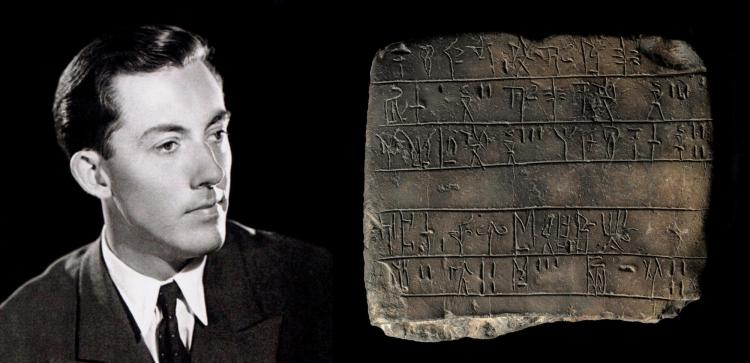michael ventris and the Pylos Tablet An35