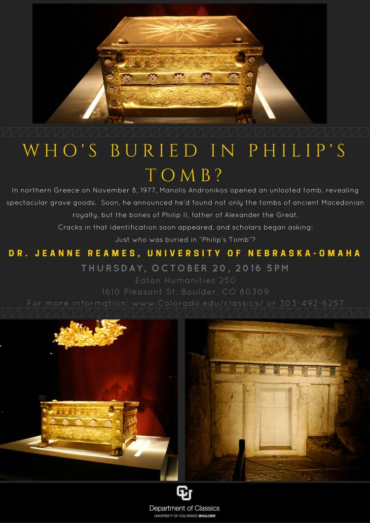Who's Buried in Philip's Tomb?