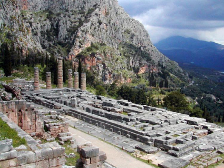 Ancient city of Delphi