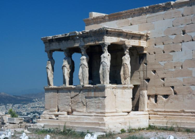 The maidens of Acropolis gaze over the ancient city