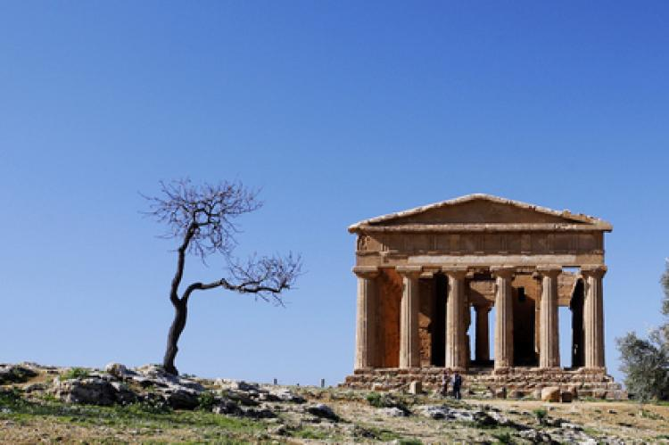 Ancient building at Agrigento