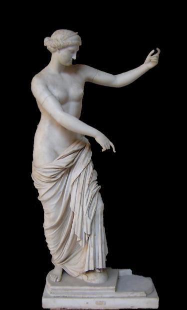 Greek statue of Capua Venus