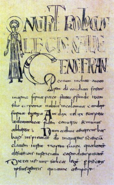 Old Latin Classical manuscript