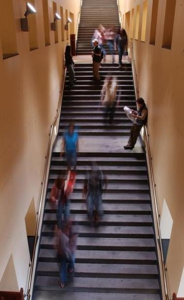 Staircase at CU