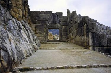 Classical architecture at Mycenae