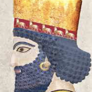 Persian King bust